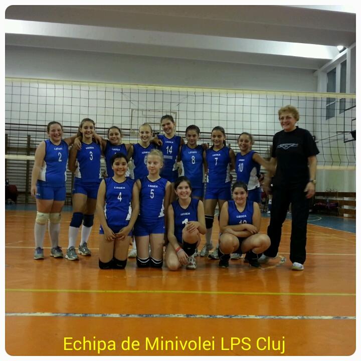 echipa minivolei feminin lps cluj