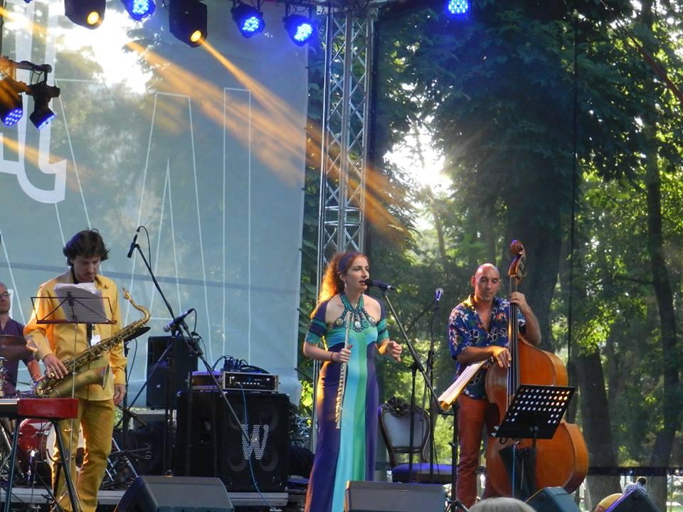 luz azul jazz in the park