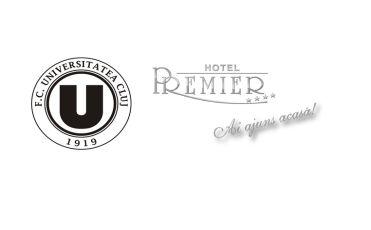 Hotel Premier va găzdui clubul Universitatea Cluj în acest sezon