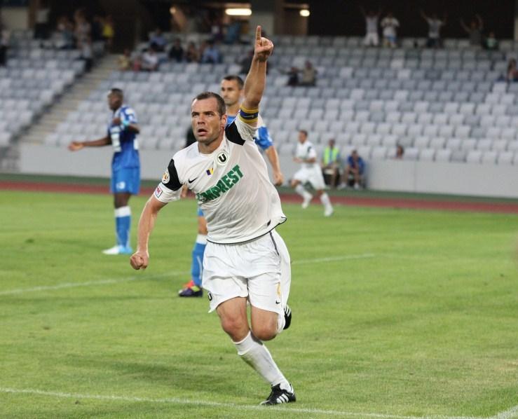 """""""U"""" CLUJ – Gloria Bistriţa 1-0. Căpitan de trei puncte – Zsolt Szilagyi aduce prima victorie a Şepcilor Roşii în noul sezon!"""