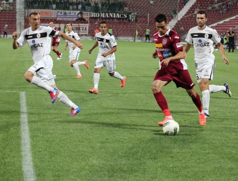 CFR Cluj, doar egal în prima etapă cu Gaz Metan Mediaş pe teren propriu!