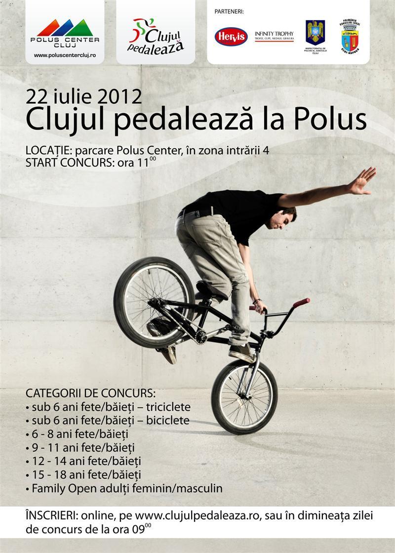 Clujul pedalează, la Polus Center!
