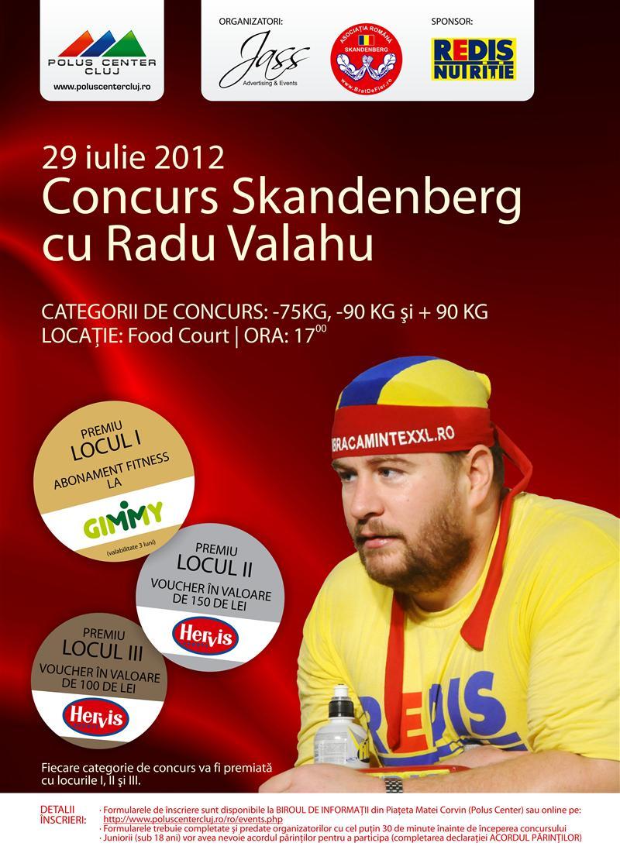 Concurs de Skandenberg cu Radu Valahu la Polus Center