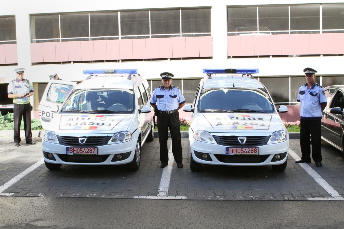 Două noi maşini de intervenţie pentru Poliţia Locală!