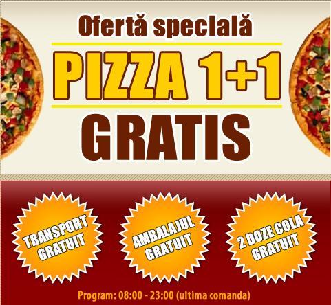 PONTUL ZILEI de astăzi vine de la Pizza Premium!