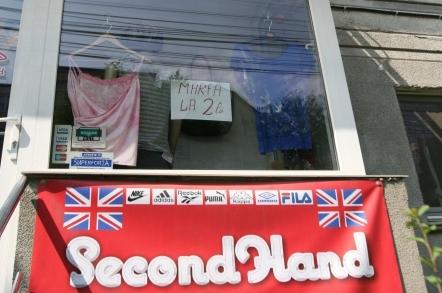 Magazinele second-hand ar putea fi interzise în centrul oraşului!