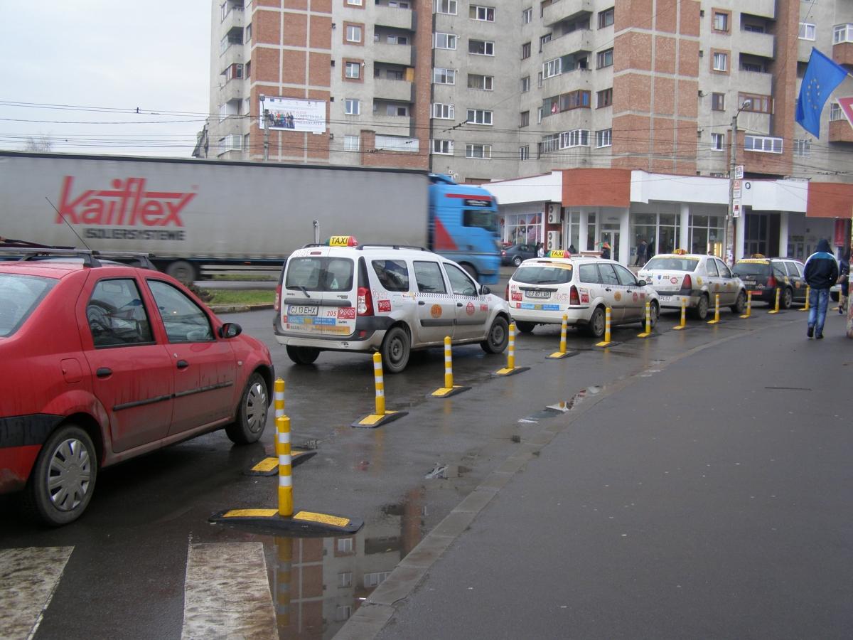 RAR Cluj: Amenzi în valoare de 10.000 lei pentru taximetriştii clujeni