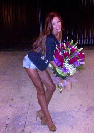 Saga dintre Bianca şi Cristea continua? Diva a primit un buchet mare de trandafiri. De la cine să fie oare?