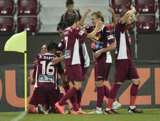Duel de Champions League. CFR Cluj – FC Vaslui 3 – 0