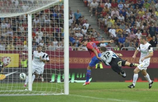 Reghe n-a avut milă de Ana Maria: Steaua – Universitatea Cluj 5 – 1