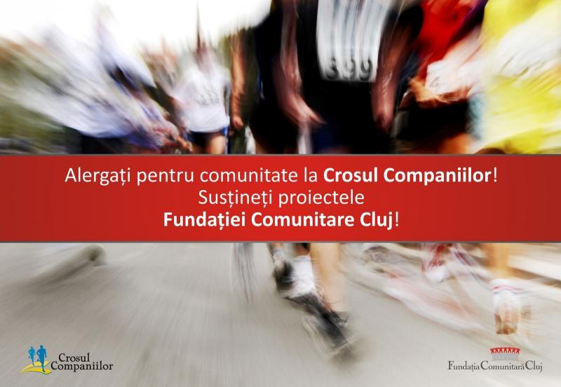 Alergi în Crosul Companiilor şi sprijini programul de burse al Fundaţiei Comunitare Cluj!