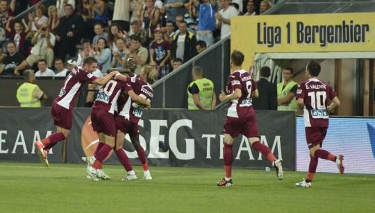 CRONICĂ – Antrenament nereuşit pentru Basel: CFR Cluj – CSMS Iaşi 2 – 2