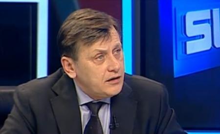 Crin Antonescu vine sâmbătă la Cluj