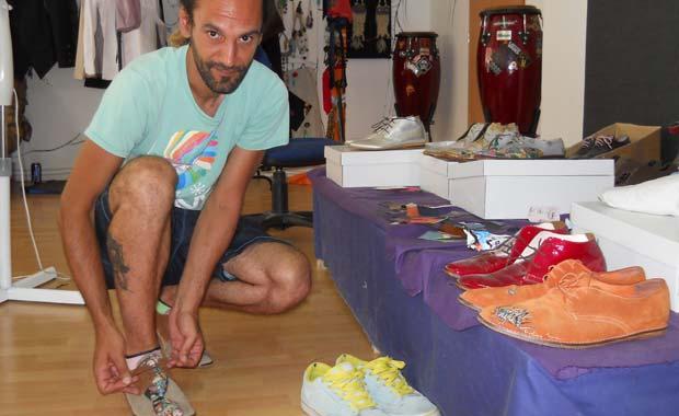 FOTO: Un clujean i-a încălţat pe olimpicii României
