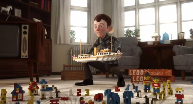 Povestea LEGO spusă prin intermediul unei animaţii!