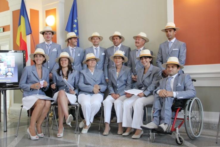 Lotul Paralimpic al României a fost prezentat oficial la Cluj-Napoca