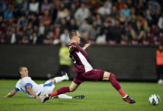 Gură de oxigen pentru Andone. CFR Cluj – Slovan Liberec 1 – 0