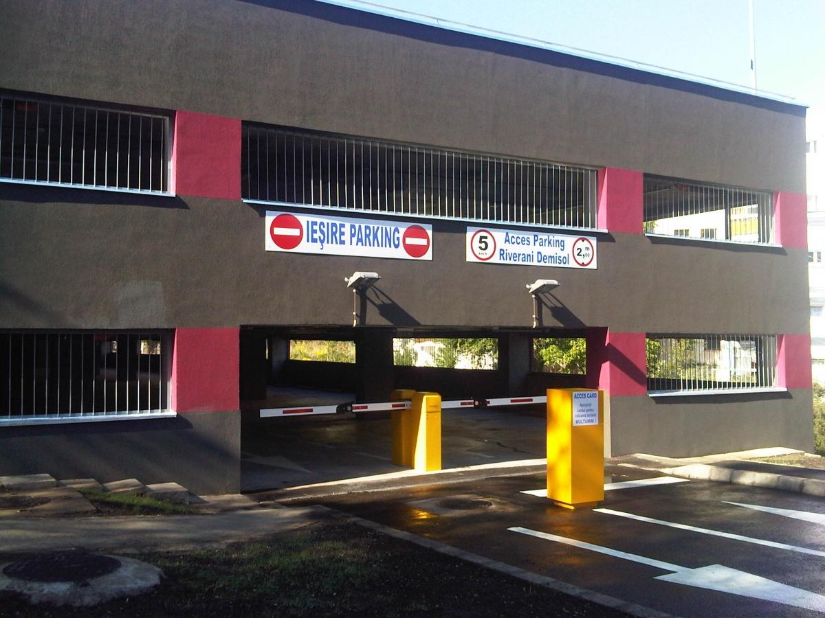 S-a inaugurat astăzi al treilea parking de cartier, pe Mehedinţi. VEZI cât costă un abonament!