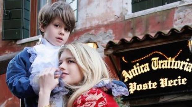 Băiatul Alexandrei Dinu şi al lui Adrian Mutu va juca într-un film!