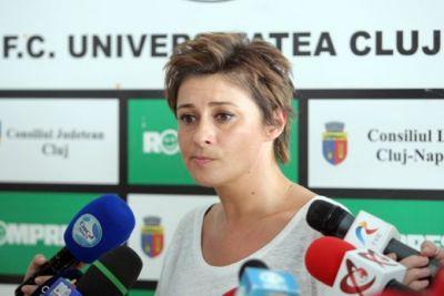 """Anamaria Prodan, atac dur la adresa lui Teo Crăciunecu: """"Un arbitru penibil ne-a luat trei puncte. Ne-a furat pe faţă"""""""