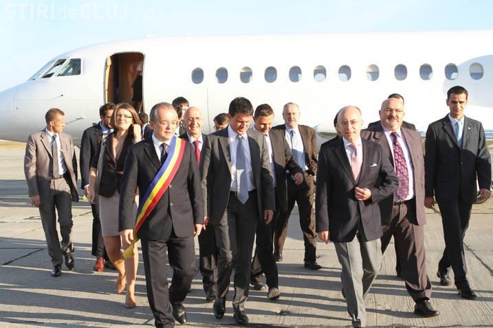 Emil Boc discută problema rromilor cu ministrul de Interne francez la Câmpia Turzii!
