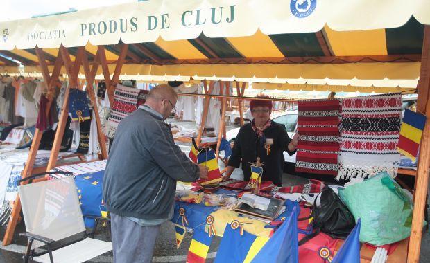 """Incepe targul """"Produs de Cluj"""", la Turda"""