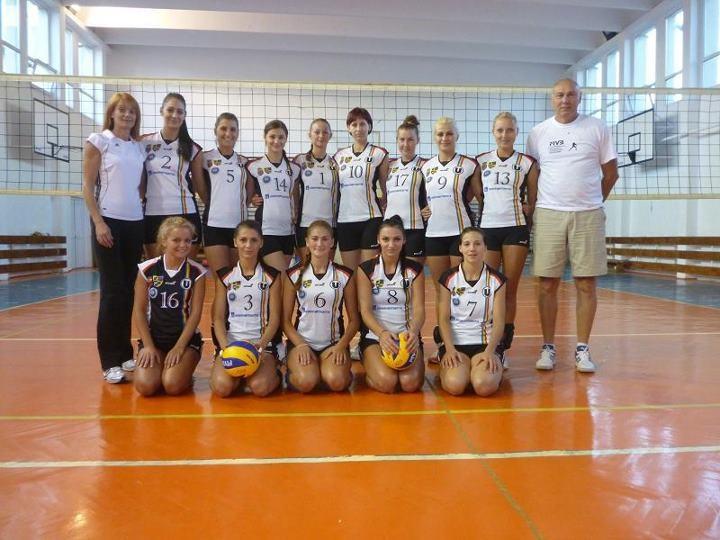 Echipa de volei feminin U Cluj va juca în Divizia A1