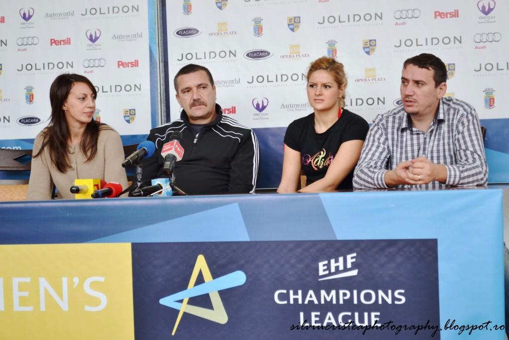 """""""U"""" Jolidon – Podravka Potrivnica, ora 17:30, în Sala Sporturilor """"Horia Demian"""""""