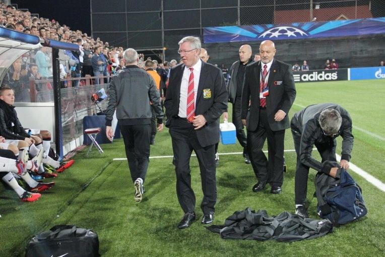 """Alex Ferguson: """"CFR are o echipă bună. Determinarea lor ne-a făcut meciul greu"""""""