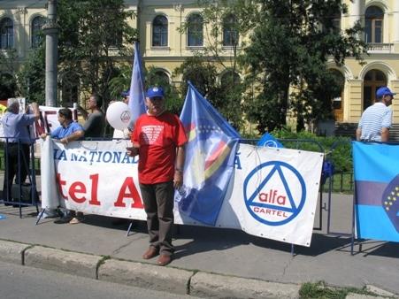 Sindicaliştii de la Cartel Alfa Cluj ies joi în stradă!