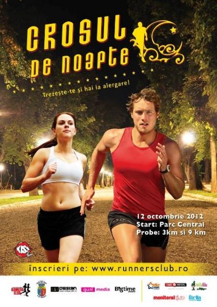 Crosul de noapte – concurs unic dedicat pasionaţilor de alergare!
