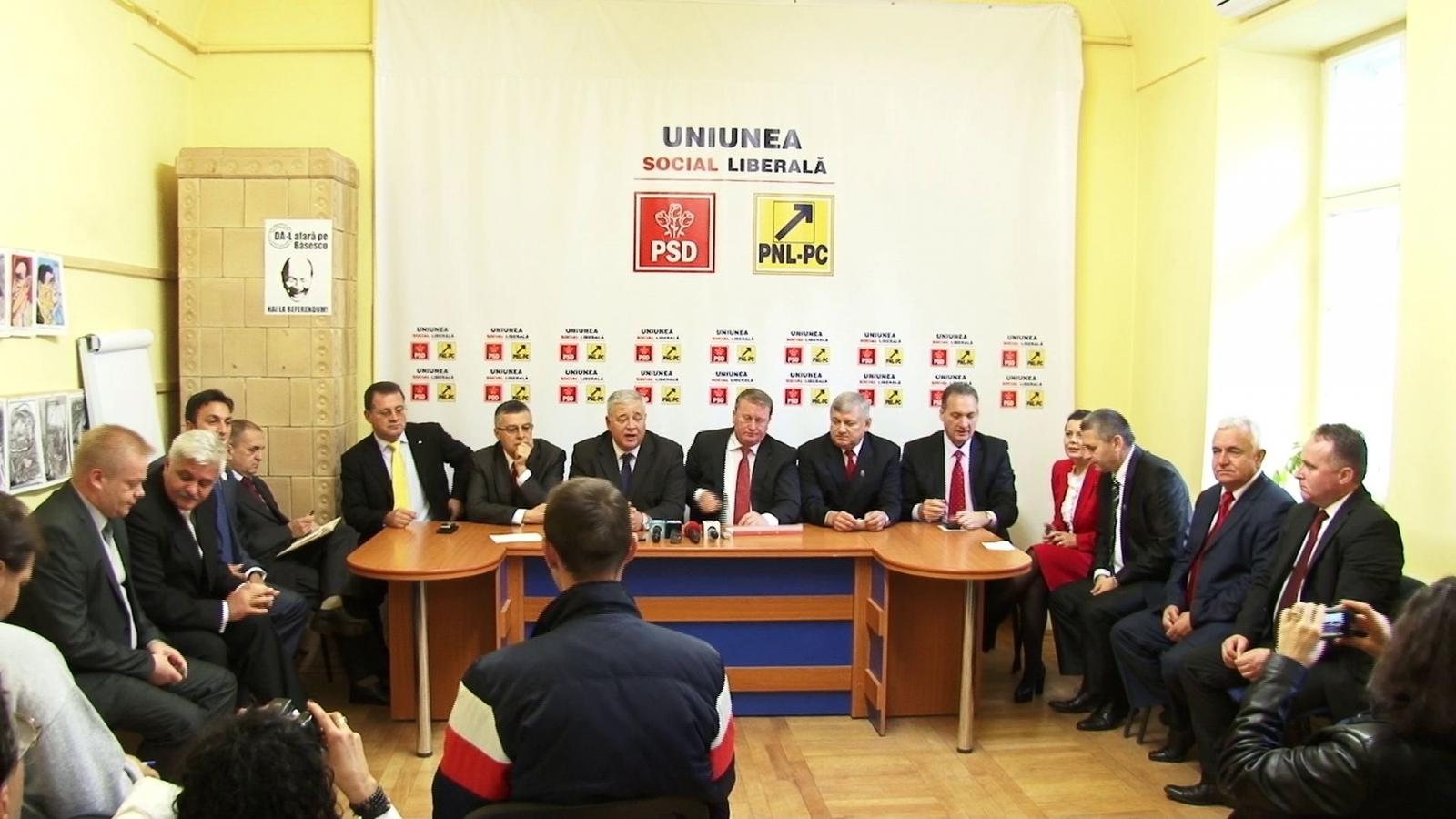USL Cluj şi-a prezentat candidaţii la parlamentare! Giurgiu se bate cu Tişe pentru Colegiul 1 Senat!