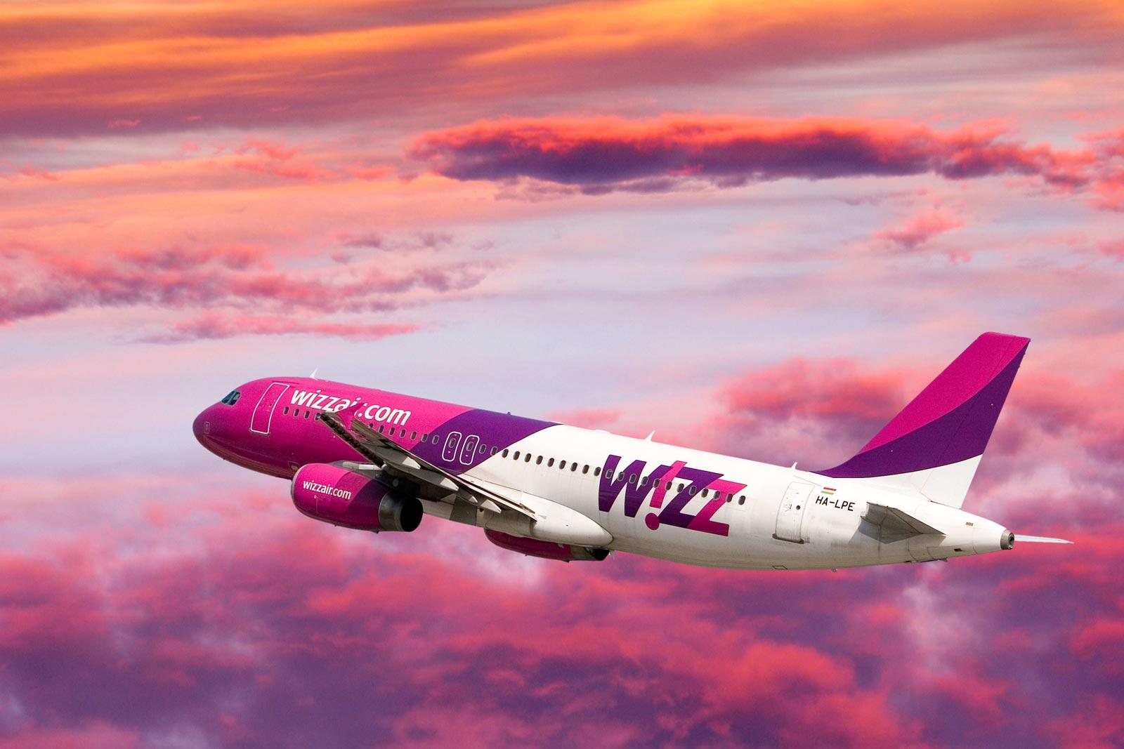 wizz air introduce trei curse noi pe aeroportul clujean