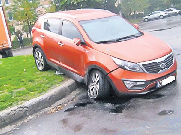 Rupt de beat, fiul unui senator din Sighetu Marmaţiei a făcut accident!