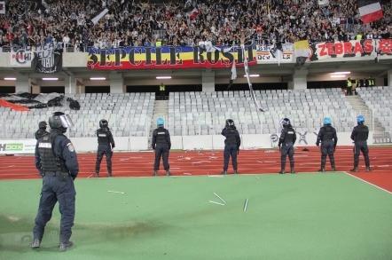 Peste 250 de jandarmi asigură ordinea la derby-ul Clujului