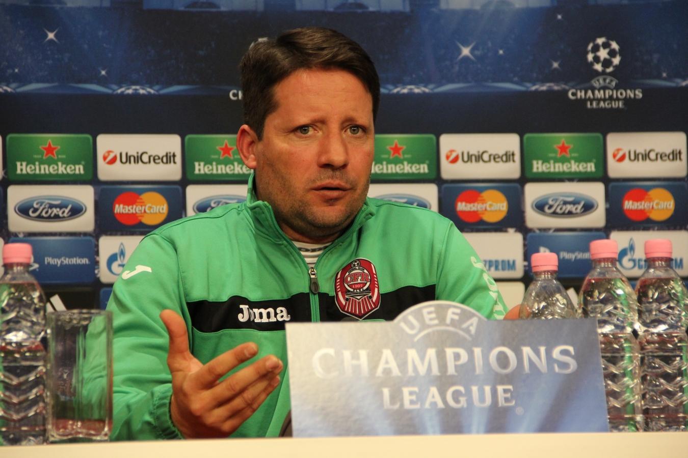 """Paolo Sergio: """"Important e să jucăm curajos şi să avem posesie în meciul cu Braga!"""""""