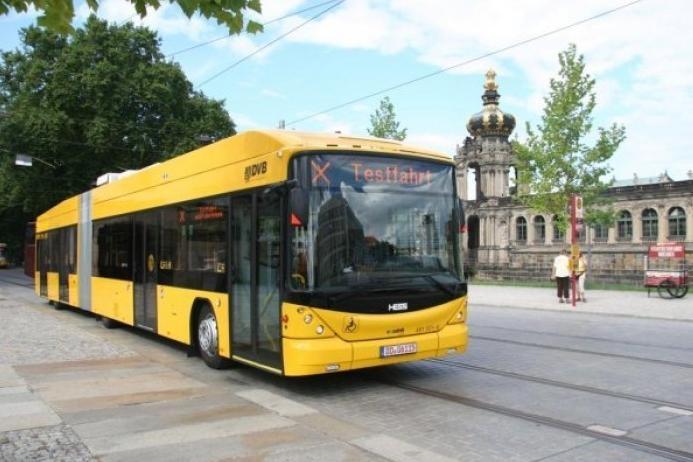 Cinci autobuze electrice din 2013 pe străzile Clujului