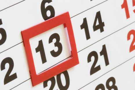 Zile libere în 2013 şi câte dintre ele sunt în timpul săptămânii