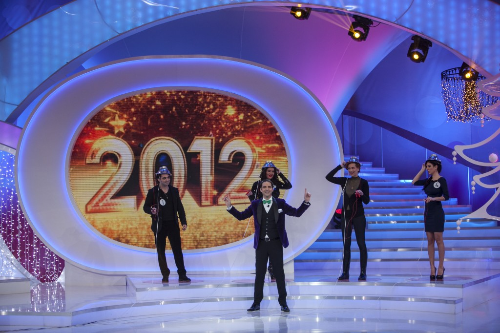 Audienţe TV: Dan Negru, la al 13-lea revelion pe primul loc. Antena 1, lider detaşat faţă de PRO TV