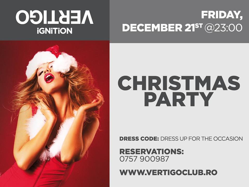 Christmas Party @ Vertigo