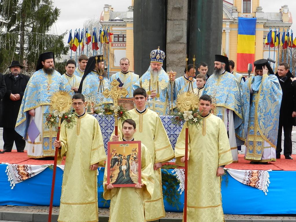 FOTO: Mii de clujeni au participat la slujba de Bobotează la Catedrală