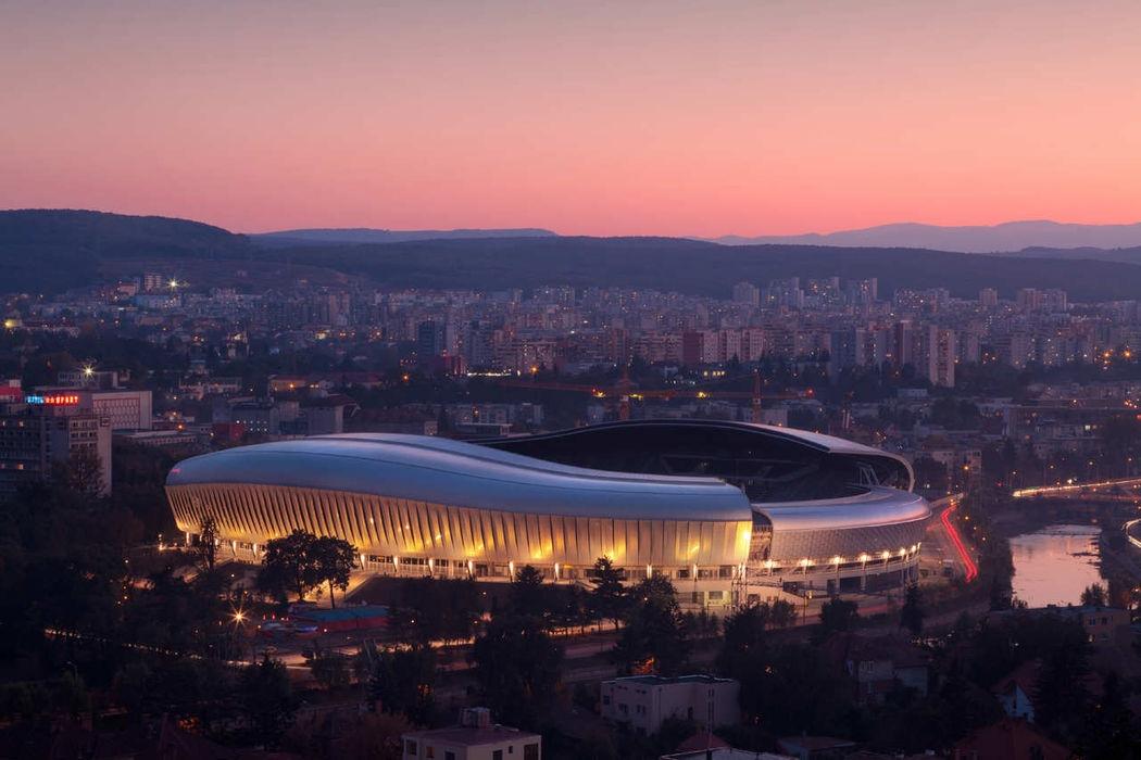 Stadionul Cluj Arena a fost nominalizat din nou într-o competiţie internaţională de arhitectură