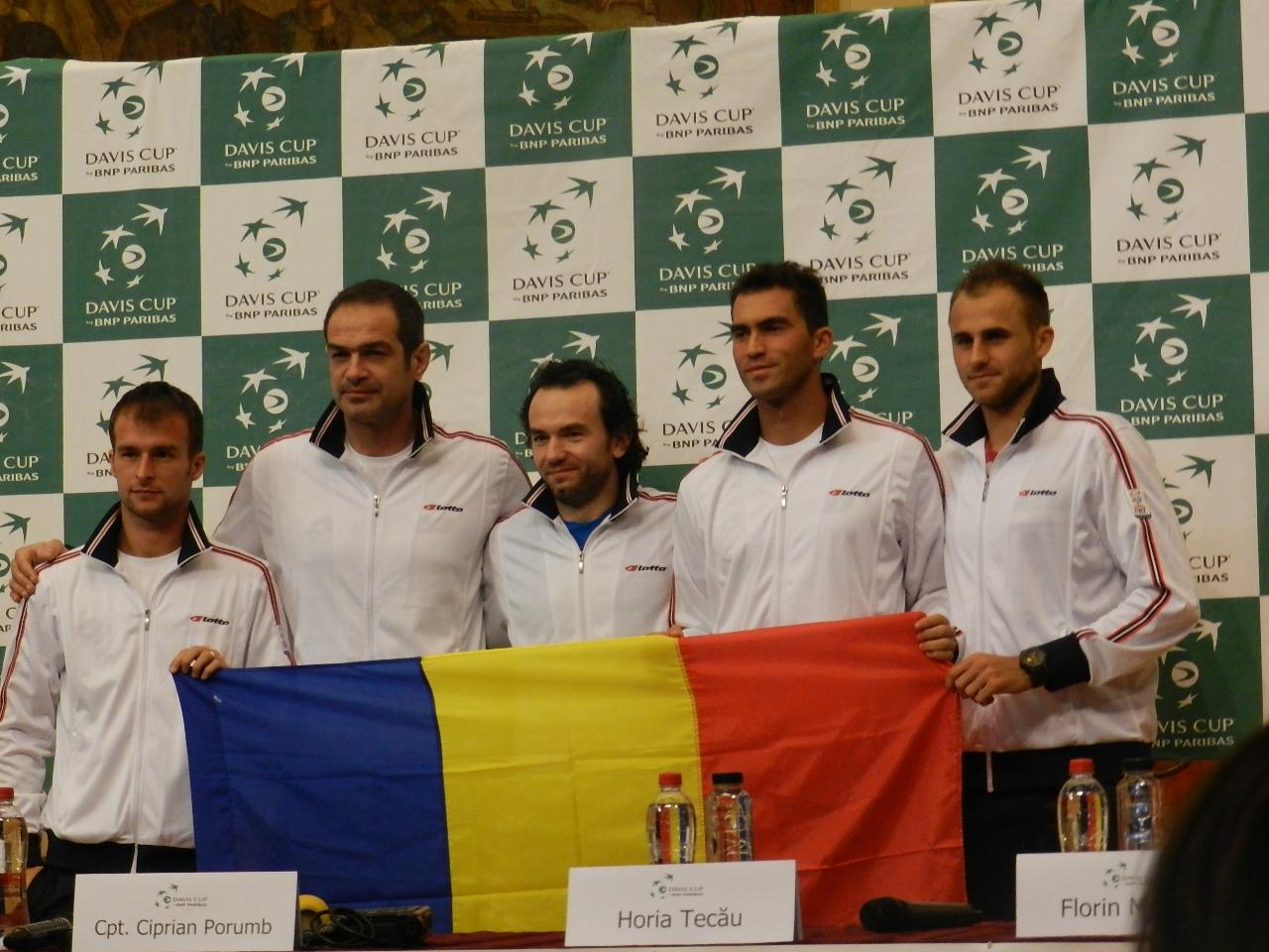 Meciul cu Olanda din Cupa Davis se va desfăşura la Cluj-Napoca