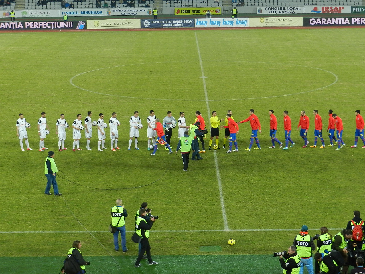 U Cluj vs Steaua