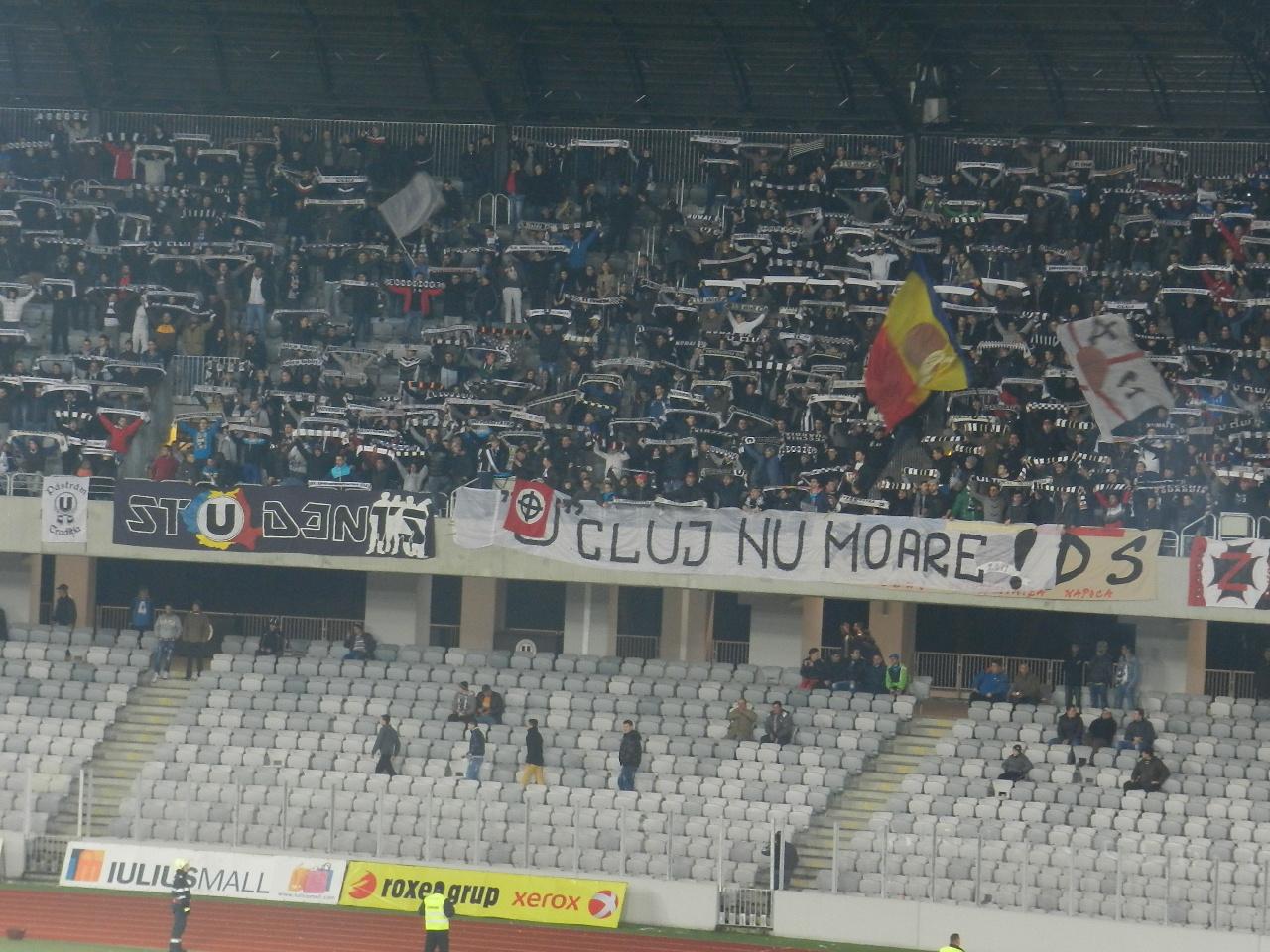 """Probleme pentru """"U"""" Cluj după meciul cu Steaua"""