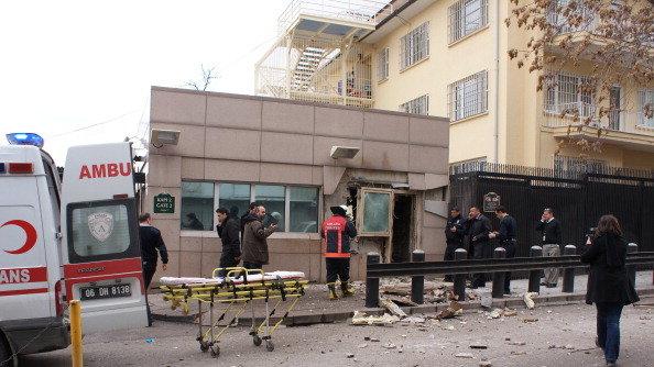 Atentat soldat cu doi morţi la Ambasada SUA din Ankara
