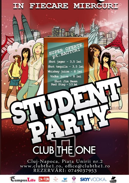 student party the one