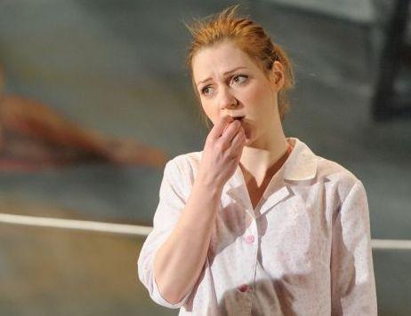 Actriţă rănită de un stâlp de decor în timpul unui spectacol la Teatrul Maghiar de Stat