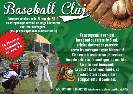 baseball cluj
