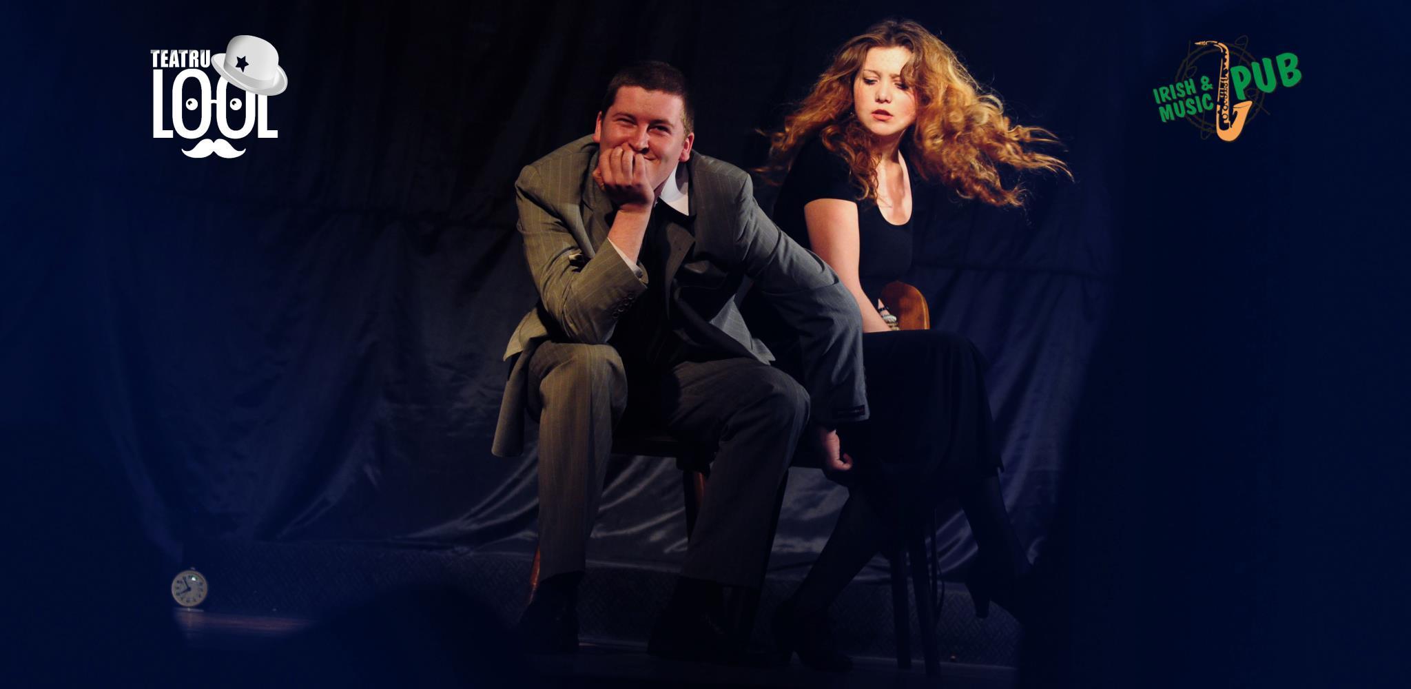 "Spectacolul ""Crize – comedie misandrina"", duminica la Irish & Music Pub"